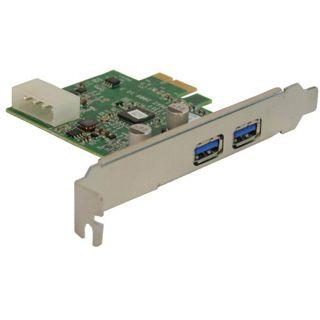 InLine Schnittstellenkarte, 2x USB 3.0, PCIe