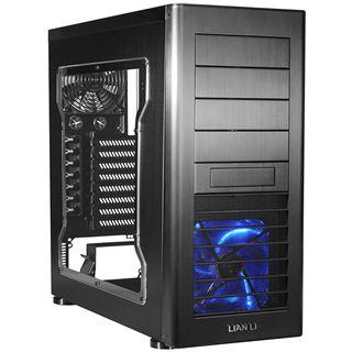 Lian Li PC-60FNWX Window All Black Midi Tower ohne Netzteil schwarz