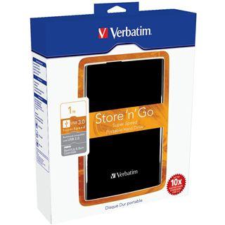 "1000GB Verbatim Store and Go Portable 53018 2.5"" (6.4cm) USB 3.0 schwarz"