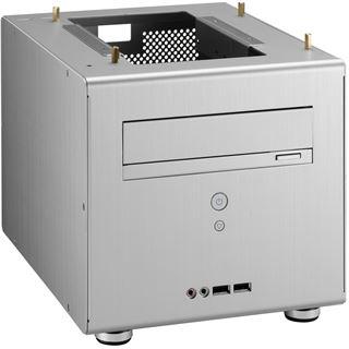 Lian Li PC-Q06A ITX Tower ohne Netzteil silber