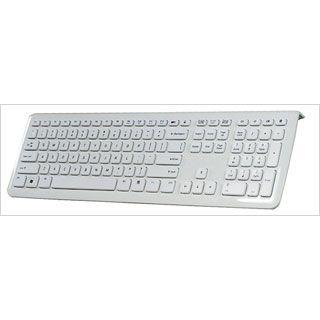 Perixx Periboard 310 Design Tastatur Weiß Deutsch USB