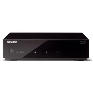 "2000GB Bufallo DriveStation AV 3.5"" (8.89cm) Schwarz USB2.0"