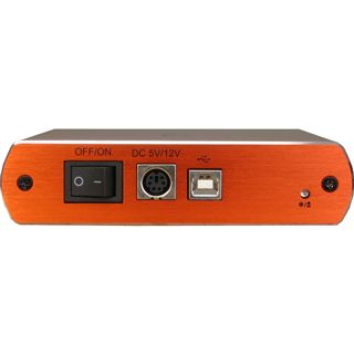 "Inter-Tech SinanPower G-3500 3.5"" (8,89cm) USB 2.0 schwarz/orange"