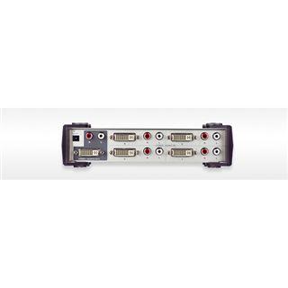 ATEN Technology VS461 4-fach DVI-A/V-Switch