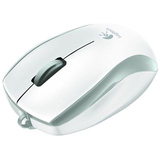 Logitech M125 USB weiß (kabelgebunden)