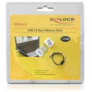 32 GB Delock Nano weiss USB 2.0