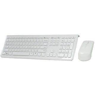 Perixx Corded Desktop Periduo 302 Tastatur+Maus Weiß Englisch USB