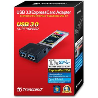 Transcend PNU3 2 Port Express Card 34 retail