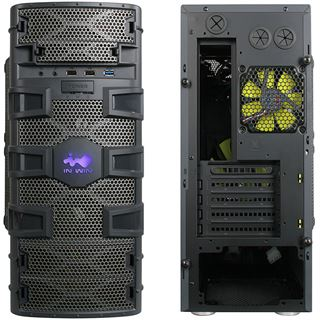 IN WIN Dragon Slayer Mini Tower ohne Netzteil schwarz