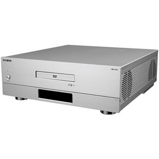 ATX Zalman Enclosure HD135 Desktop Gehäuse o.NT Silber