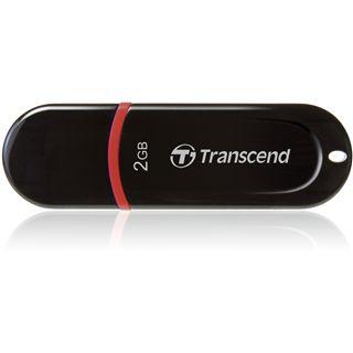 2 GB Transcend JetFlash 300 schwarz USB 2.0