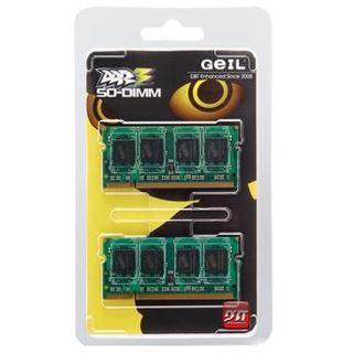8GB GeIL GS38GB1066C7DC DDR3-1066 SO-DIMM CL7 Dual Kit