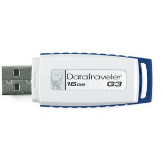 16 GB Kingston DataTraveler Generation 3 (G3) blau USB 2.0