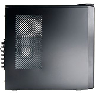 Revoltec Fifty 3 Midi Tower ohne Netzteil schwarz