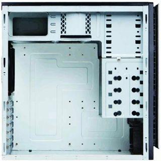 Antec New Solution NSK4000 II Midi Tower ohne Netzteil schwarz/silber