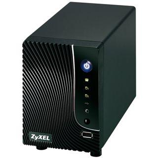 ZyXEL Network Storage NSA-221 NAS System für 2x3,5 SATA II HDD Schwarz