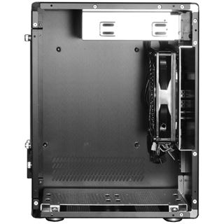 Lian Li PC-Q11B ITX Tower ohne Netzteil schwarz
