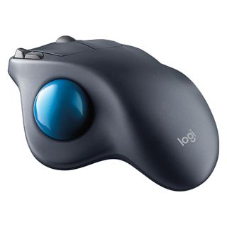 Logitech M570 Wireless Trackball USB schwarz/blau