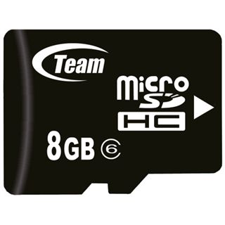 8GB TeamGroup micro SDHC Adapter w/ Class 6
