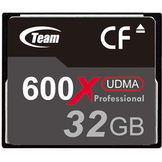 32 GB TeamGroup Standard Compact Flash TypI 600x Retail