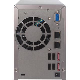 "QNAP Turbostation TS-259Pro+ NAS System für 2x2,5"" oder 2x3,5"" SATA II HDD Schwarz"