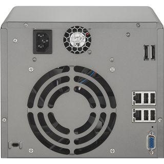 "QNAP Turbostation TS-559Pro+ NAS System für 5x2,5"" oder 5x3,5"" SATA II HDD Schwarz"