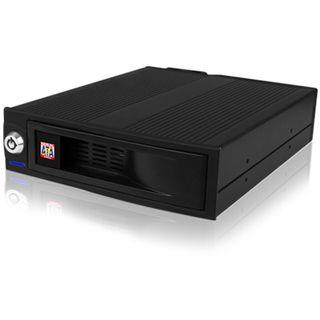 """RaidSonic ICY BOX schwarzer 5.25"""" Wechselrahmen für 3.5"""" Festplatten (IB 170SK-B)"""