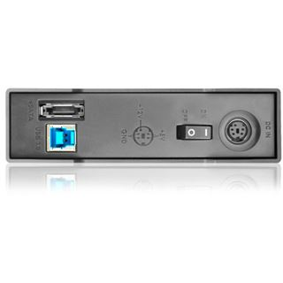 "Raidon GT1650-1S-SB3 3.5"" (8,89cm) eSATA/USB 3.0 schwarz"