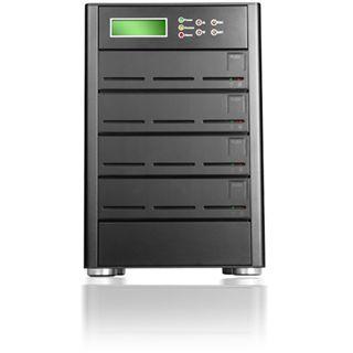 """Raidon SL5650-4S-L4D NAS System für 4x3,5"""" eSATA7LAN HDD Schwarz"""