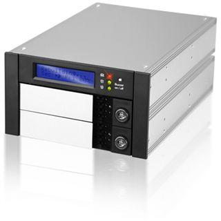 """Raidon SR2600-2S-S2B NAS System für 2x3,5"""" IDE/SATA HDD Schwarz"""