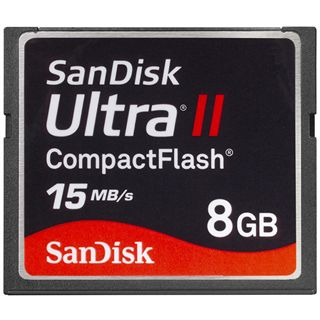 8 GB SanDisk Ultra Compact Flash TypII 200x Retail