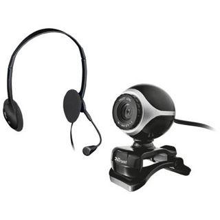 Trust Exis Chatpack schwarz Webcam USB