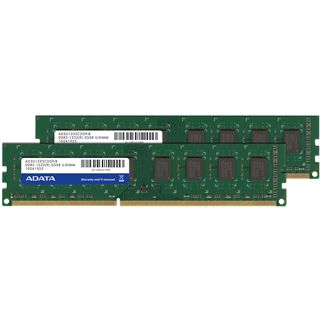8GB ADATA Value DDR3-1333 DIMM CL9 Dual Kit