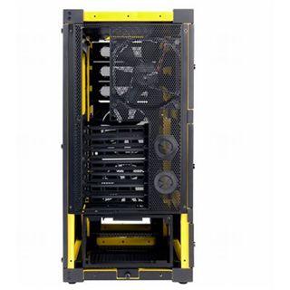 Antec Yellow Midi Tower ohne Netzteil schwarz/gelb