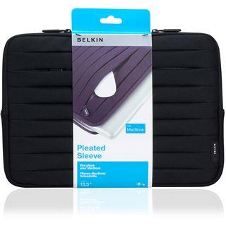 Belkin Tasche NB 13,3 Pleated-Schutzhülle MacBook / schwarz