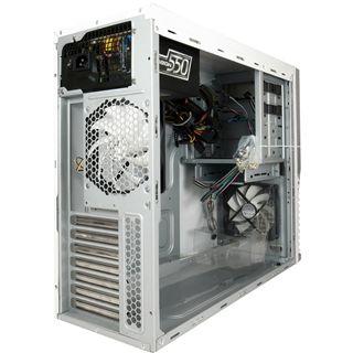 Arctic Cooling Silentium T11 Midi Tower ohne Netzteil schwarz/silber