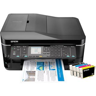 Epson Stylus Office BX625FWD Multifunktion Tinten Drucker 5760x1440dpi WLAN/LAN/USB2.0
