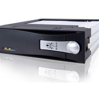 """Icy Dock schwarzer 5.25"""" Wechselrahmen für 3.5"""" Festplatten (MB123IK-1B)"""