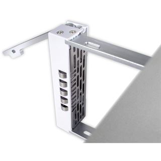 Icy Dock eSATA/USB PM External 4 Drive Enclosure with 2 ports eSATA card with Fan Speed Control (Pearl White)