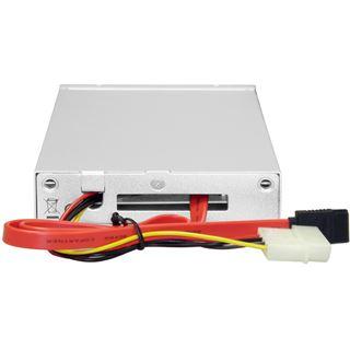 "Icy Dock 2.5""(6,35 cm) SATA GEHW in 1 x 3.5"" Drive Bay Internal Mobile Rack w/ external USB2.0 & SATA Connection (Silver)"