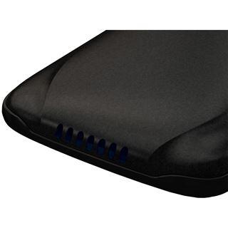 "2.5"" (6,35 cm) Icy Dock SATA HDD external USB2.0 & e-SATA enclosure with OTB function (Black)"
