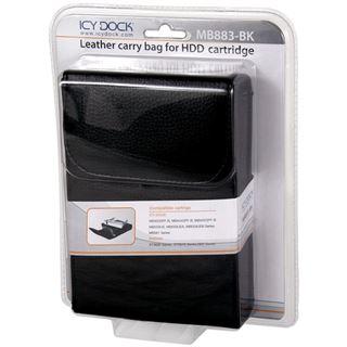 Icy Dock Carry Bag for HDD Cartridge Leder Schwarz