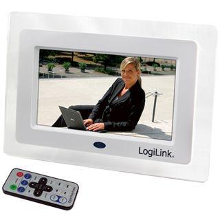 """7,0""""(17,78cm) Logilink Bilderrahmen 16:9 mit Video und MP3"""