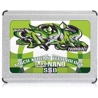 "60GB Mach Xtreme Technology MX Nano ZIF 1.8"" (4.6cm) ZIF MLC asynchron (MXSSD1MNANOZ-60G)"