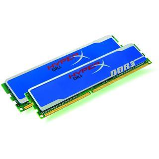 2GB Kingston HyperX DDR3-1600 DIMM CL9 Dual Kit