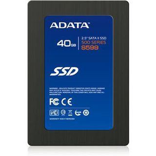 "40GB ADATA S 599 2.5"" (6.4cm) SATA 3Gb/s MLC asynchron (AS599S-40GM-C)"