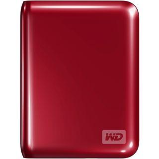 "500GB WD My Passport Essential WDBACY5000ARD-EESN 2.5"" (6.4cm) USB 3.0 rot"