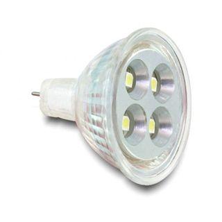 Delock LED MR11 Leuchtmittel, 4x HighPower SMD, 1,2W, warmweiß