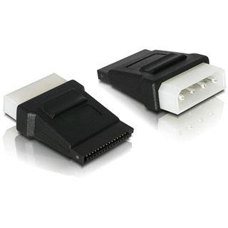 Good Connections Adapter SATA 4pol Stecker auf 15pol Buchse Schwarz
