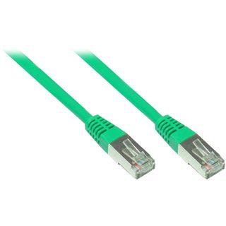 (€3,90*/1m) 1.00m Good Connections Cat. 5e Patchkabel F/UTP RJ45 Stecker auf RJ45 Stecker Grün